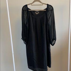 RW&Co Sheer sleeve dress